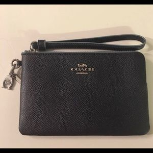 Coach Wristlet-New-Midnight Navy Color